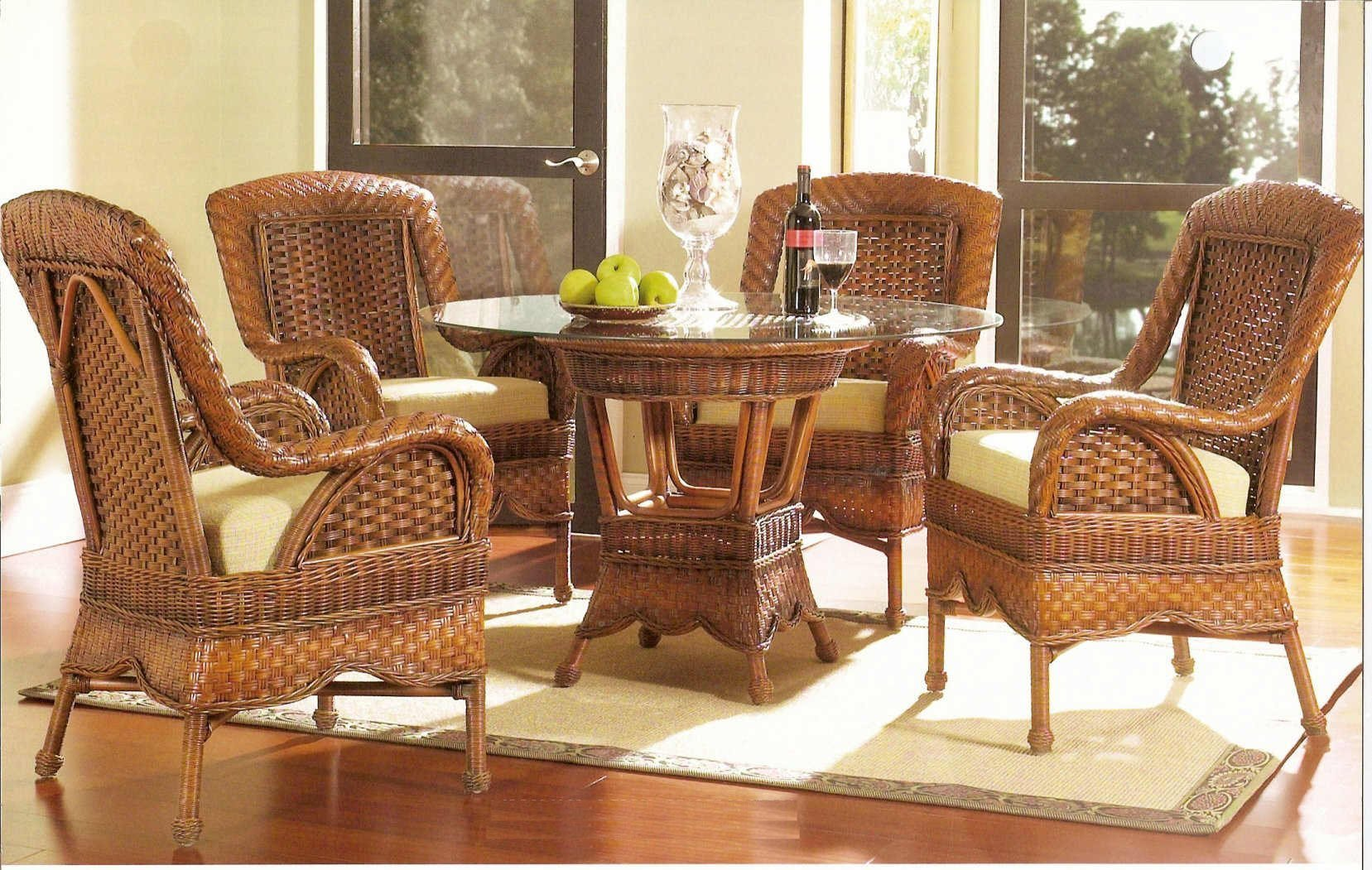 wicker furniture for a friendly and cool natural environment YWUGSZZ