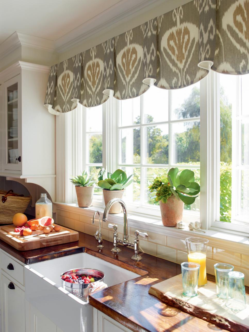 window treatment ideas coordinated charm. fabric-based window treatments ... GHGOIRC