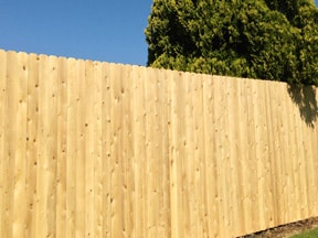 wood privacy fence styles DXJKTDB