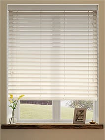 wooden blinds antique cream thumbnail image JHSDGPK