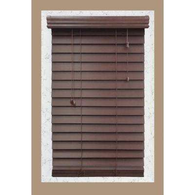 wooden blinds cut-to-width brexley 2-1/2 in. wood blind RAIIGFR