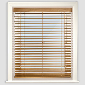 wooden blinds premier medium oak YLWMPZE