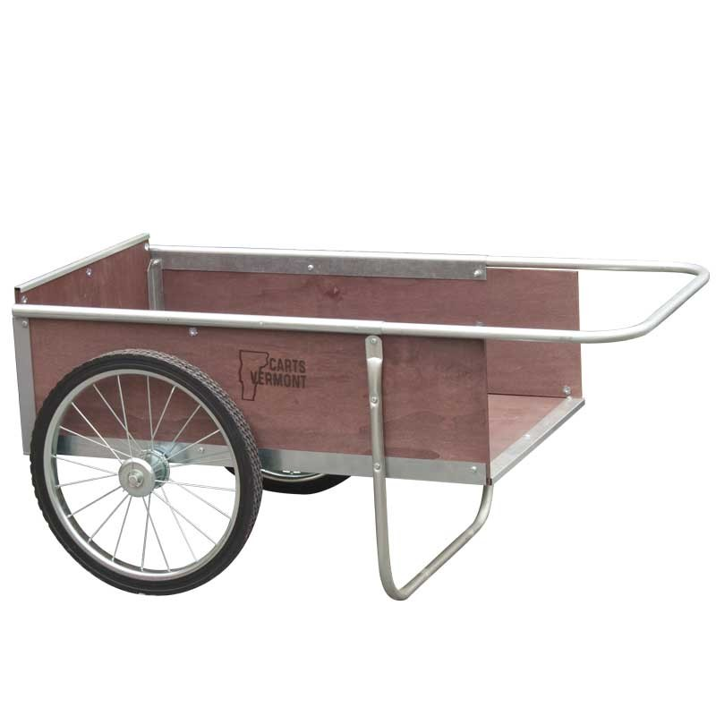wooden garden cart medium AGGPXDS