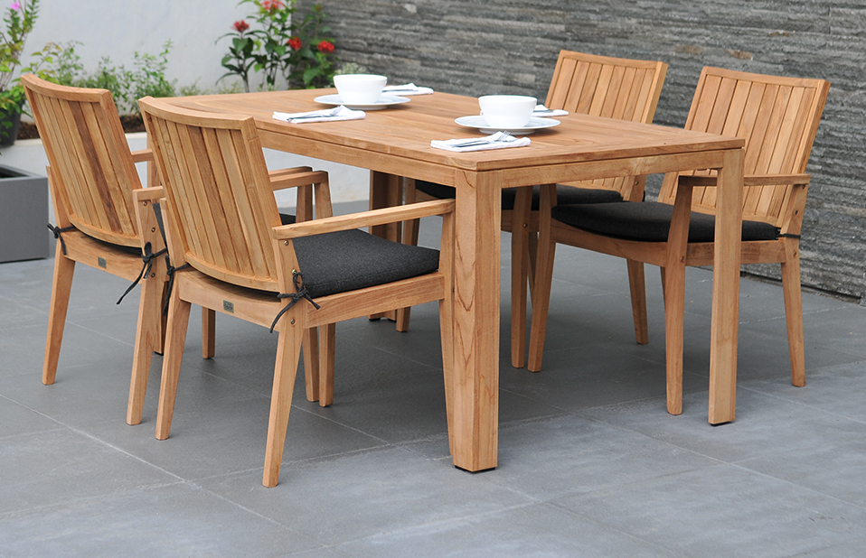 Higher Inclination for Wooden garden Furniture