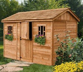 wooden sheds PAOGBVJ