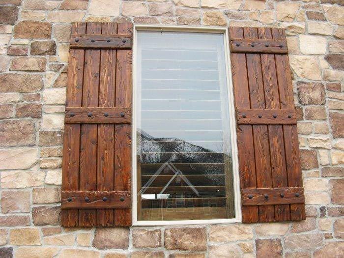 wooden shutters best 25+ wood shutters ideas on pinterest | rustic shutters, outdoor  shutters and window shutters FDPCGIZ