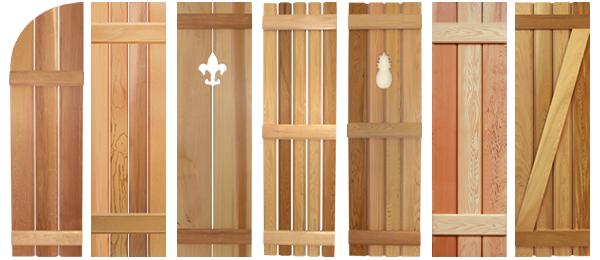wooden shutters #image1 southern shutter company | board and batten shutters ... THVUOBS