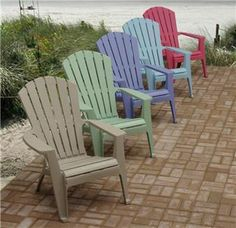 you can choose flat shape plastic adirondack chairs and enhance the beauty  of your home. MPCTNAA