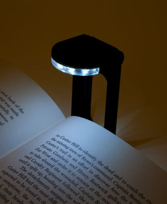... alternative view 3 of rechargeable book light dock in black ... DPOYIVL