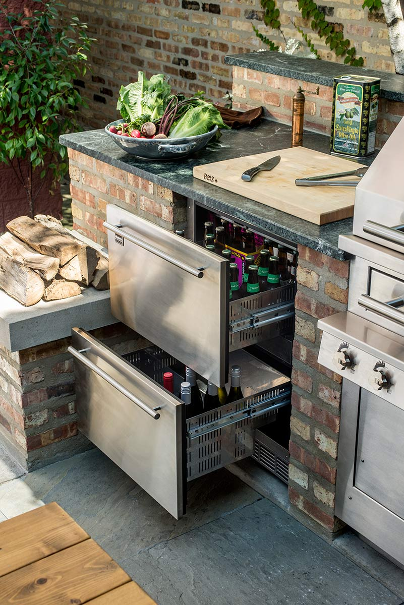 15 best outdoor kitchen ideas and designs - pictures of beautiful outdoor IBFAJYX