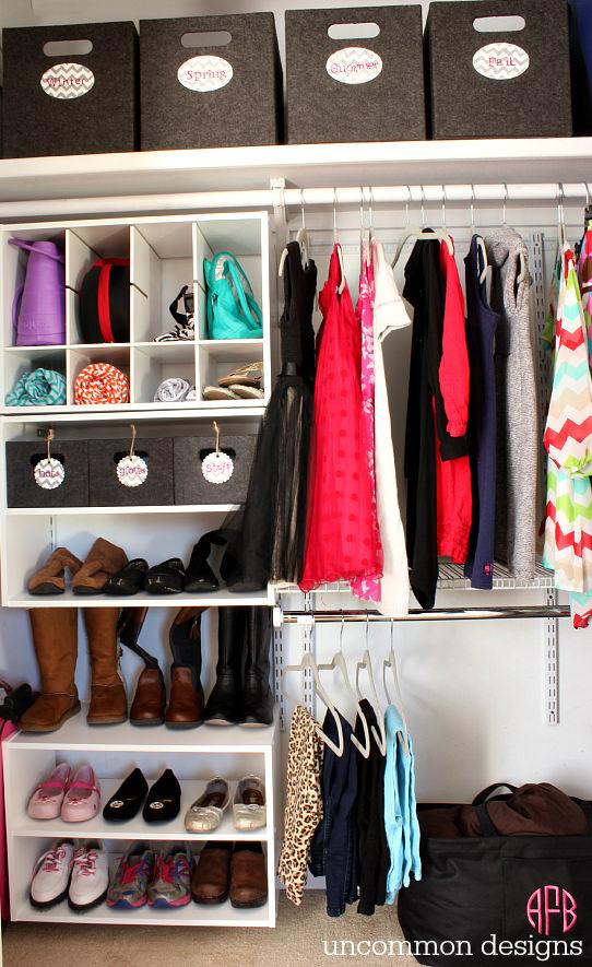 30 closet organization ideas - best diy closet organizers HXFKSOO