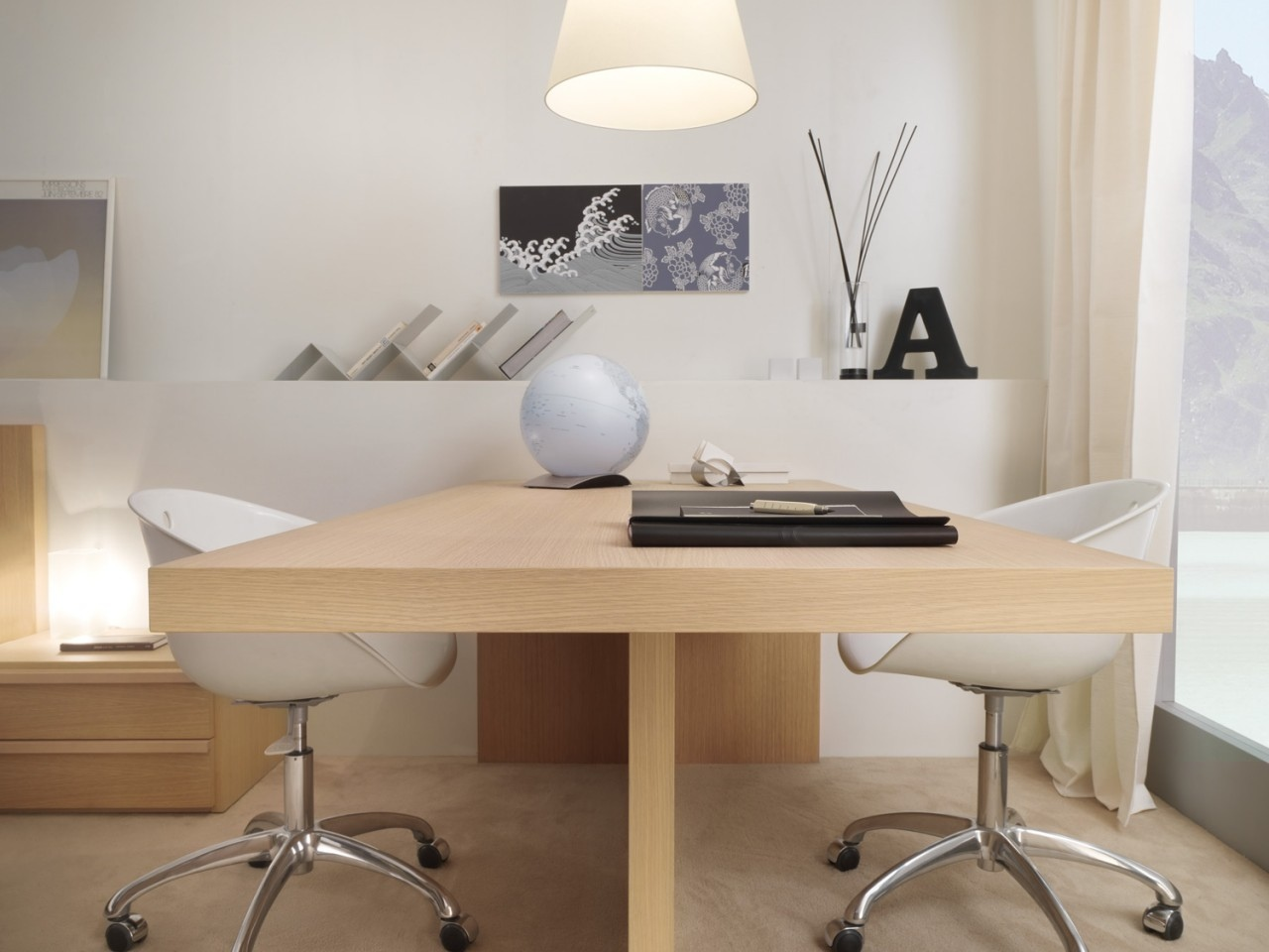 30 inspirational home office desks AHSYTLJ