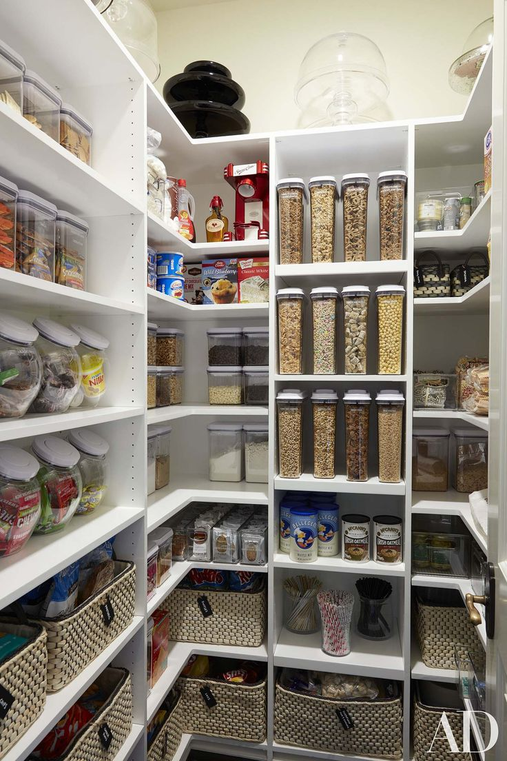 35 clever ideas to help organize your kitchen pantry SYZEGMJ