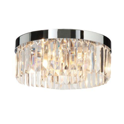 35612 crystal bathroom ceiling lights - mains voltage halogen bathroom  ceiling light RJGDLBO