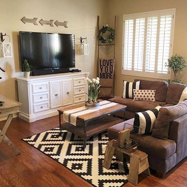 50+ shabby chic farmhouse living room decor ideas LHBMGGN