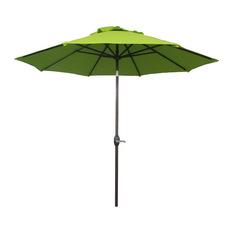 abba patio - market outdoor umbrella, bright green - outdoor umbrellas RECOFBE