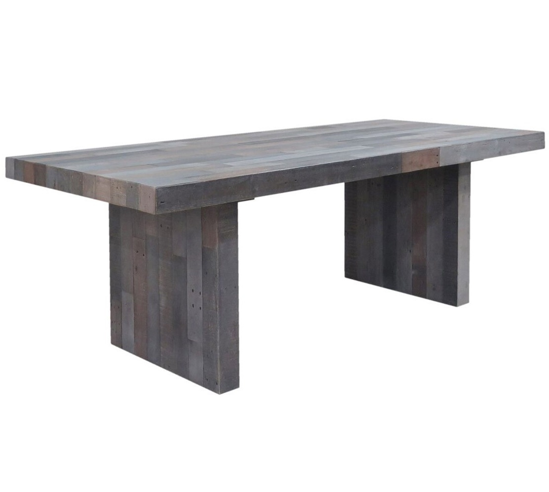 angora storm reclaimed wood dining table 82 QLOGKTS