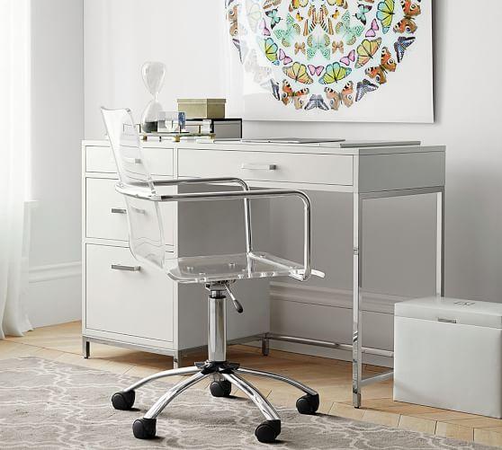 ava small desk WLIKION