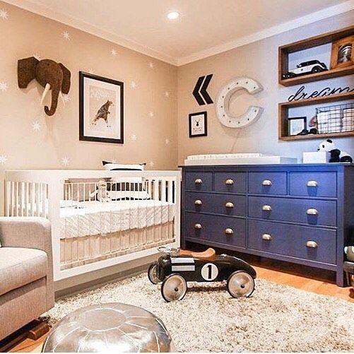 baby boy nursery ideas baby boy nursery decorations blue and beige nurseries RKDJWXS