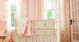 baby girl bedding shabby chenille crib bedding XYQUPOY