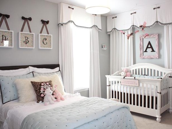 baby nursery in blue SOYBEFO