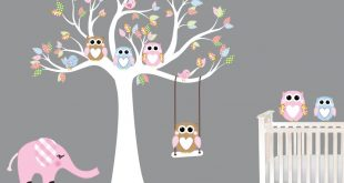 baby wall decals - nursery wall decals birch trees - youtube QKIDPEB