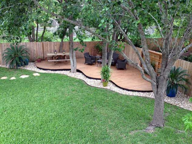backyard ideas 23 easy-to-make ideas building a small backyard seating area CLUFJVI