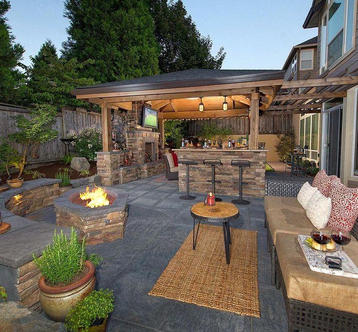 backyard ideas 99 amazing outdoor fireplace design ever LAINAAH