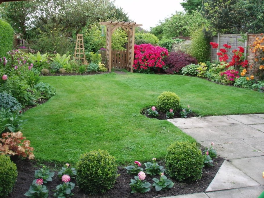 backyard landscaping nice decoration small backyard landscape design with lush grass thoroughly  andu2026 AVDNFYM