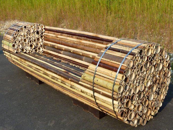 bamboo furniture ZYVKFEM