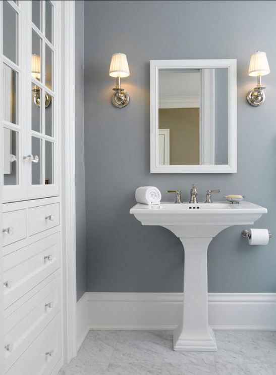 bathroom colors benjamin moore - solitude FYNMPMZ