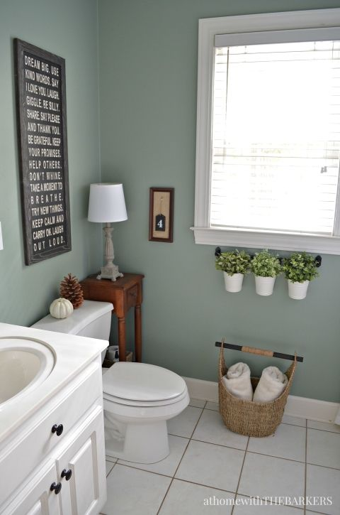 bathroom colors holiday ready room refresh. bathroom paint colorsbehr ... WKHBAMO