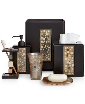 bathroom sets croscill bath, mosaic bath accessories RDDCRPH