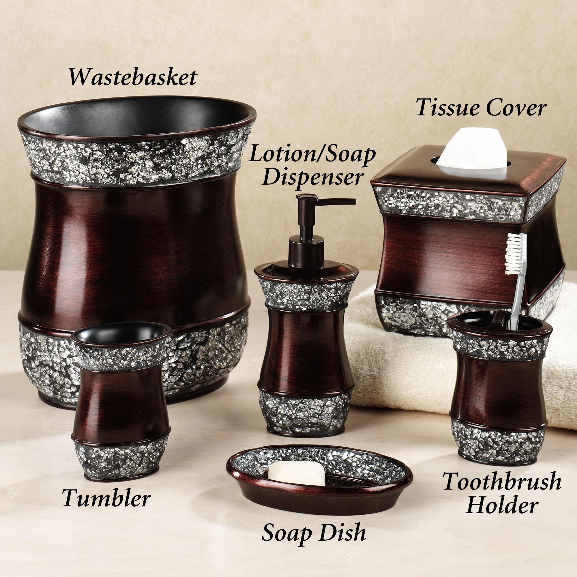 bathroom sets elite handpainted bath accessories WVUALUO