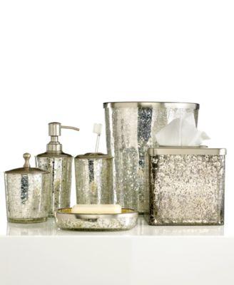 bathroom sets paradigm bath accessories, crackle glass ice collection GBQMRUE
