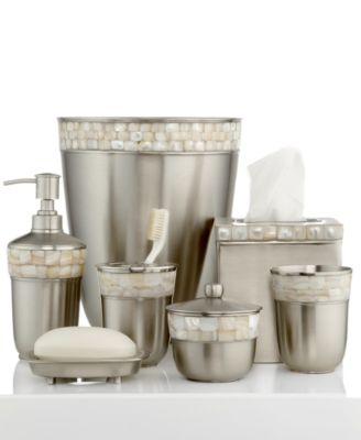 bathroom sets paradigm bath accessories, opal satin copper collection SAJUXHS
