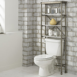 bathroom storage over-the-toilet storage FBXADDV