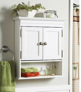 bathroom wall cabinets white cottage style bathroom wall cabinet storage shelf NKOPPCT