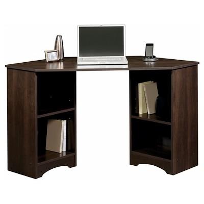 beginnings corner desk - cinnamon cherry - sauder DWPZMZW