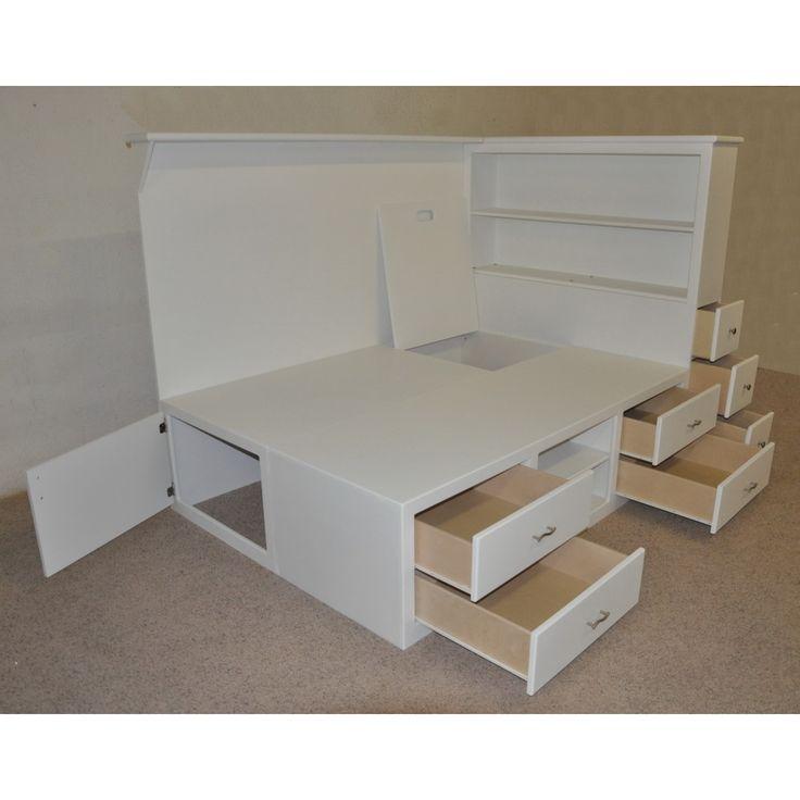 best 10+ platform bed with storage ideas on pinterest | platform bed TDEBJTJ