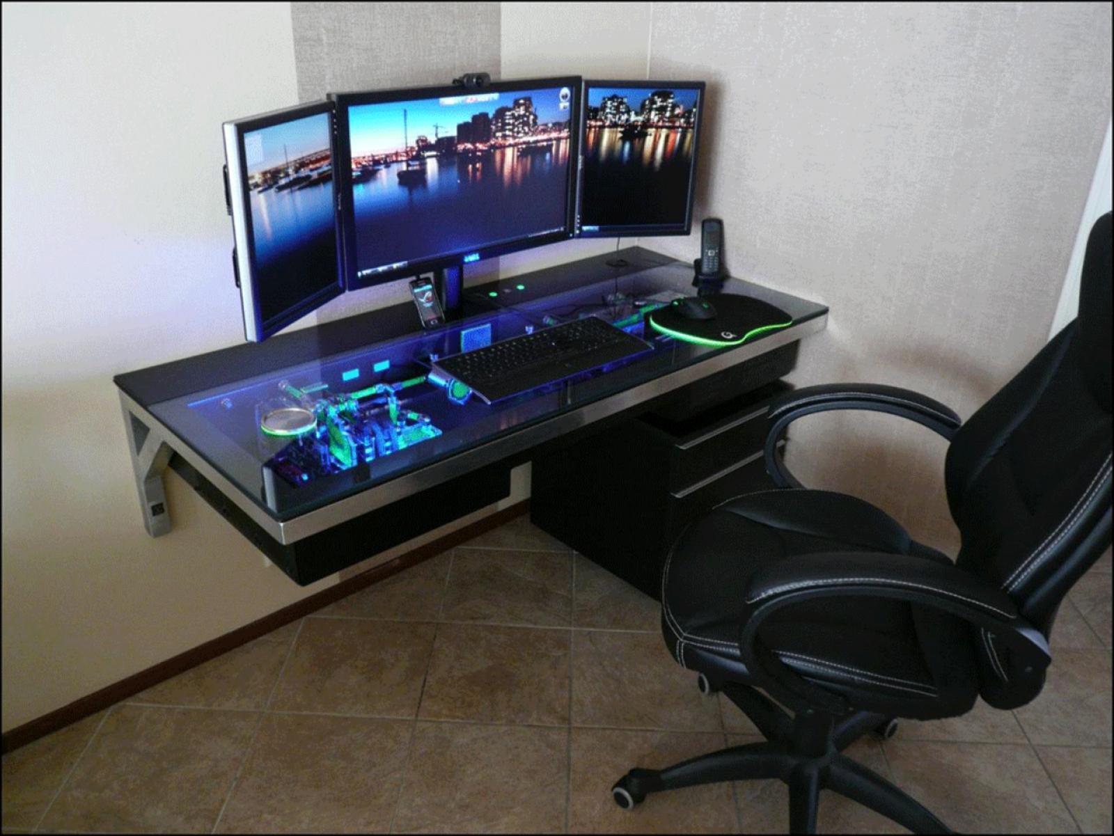 best custom pc gaming computer desk ideas YMADHEI