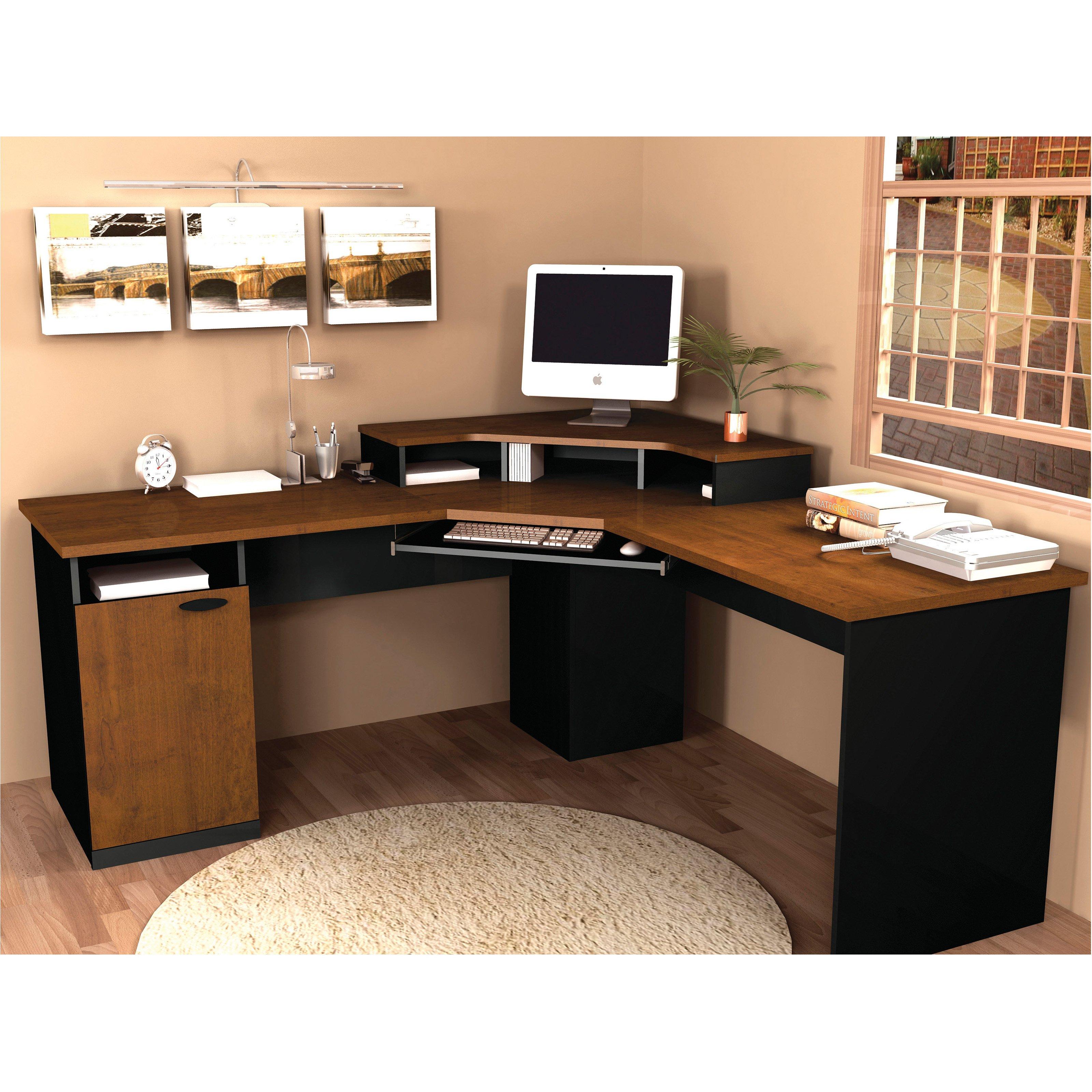 bestar hampton corner computer desk - walmart.com PXHJWOG