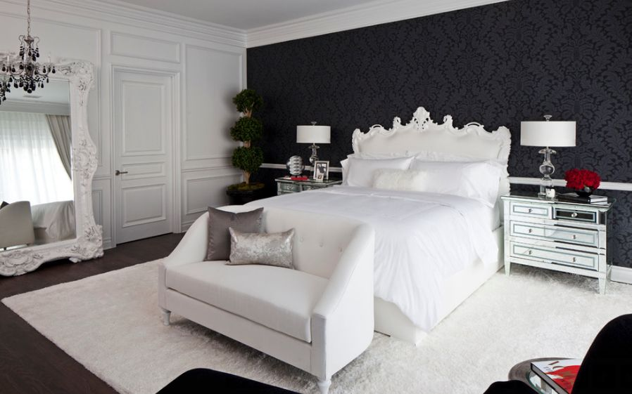 black and white bedroom 35 timeless black and white bedrooms that know how to stand out WIKMKWZ