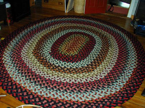 braided rugs 9u0027 x 12u0027 oval braided rug.  LUSKGWF