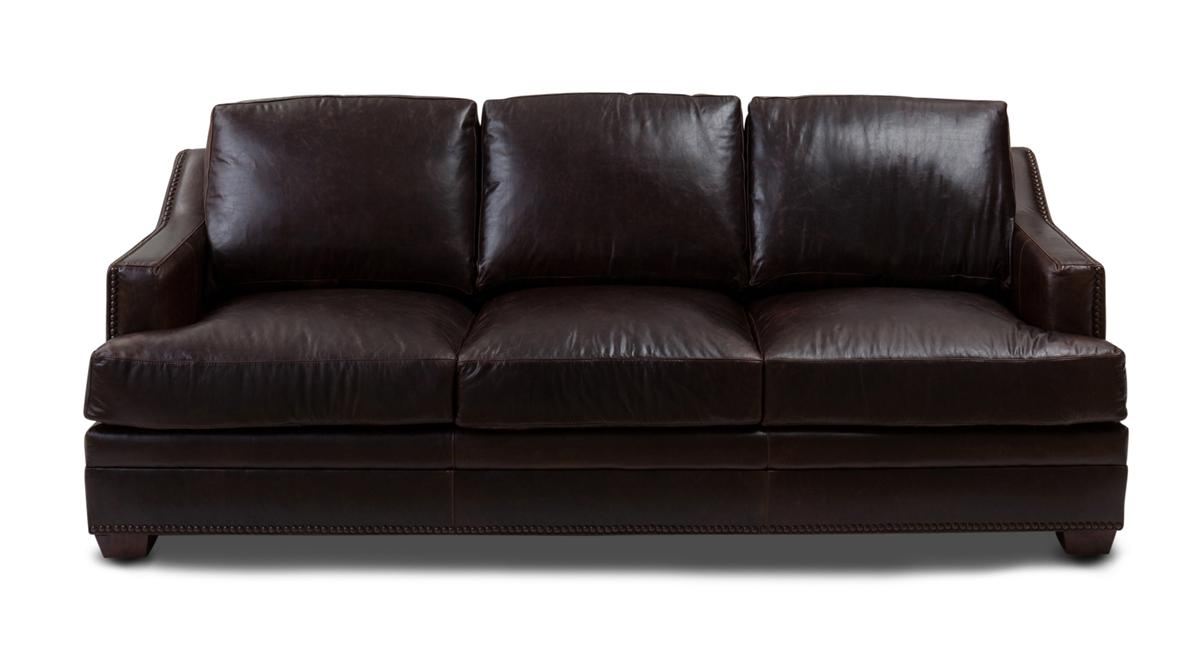brown leather sofa ... 2721590037_00091-000674-leather-sofa-antique-brown128s.jpg ... NWGWANV