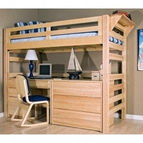 bunk beds with desk 24 cute kids loft beds with desk underneath : winsome ONVSWLJ