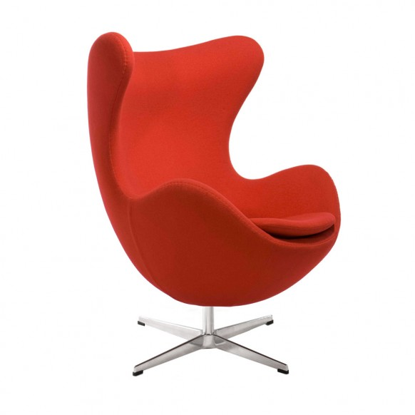 chair design egg chair usage: itu0027s steel frame, high curved back and rounded bottom TGYBFYE
