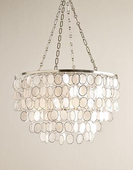 chandelier lighting aurora 3-light silvery chandelier YPMBBRN
