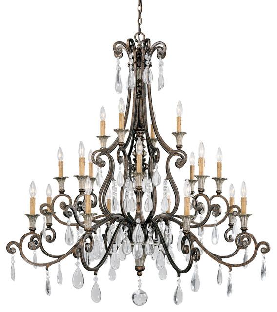 chandelier lighting st.laurence 20-light chandelier mediterranean-chandeliers HHYUAOA