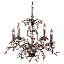 chandeliers 5-light crystal chandelier VBWWKTJ